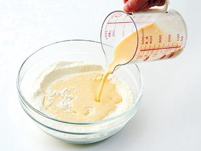 豆乳パンケーキ2
